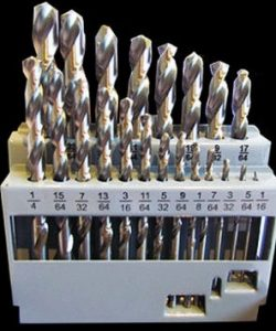 21 Piece Imperial Cobalt Drill Bit Set M35 HSS
