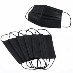 Surgical Black Disposable Face Medical Mask