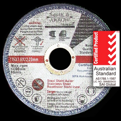 "Metal Cutting Discs / Wheels - 4.5"", 115mm x 1mm (Angle Grinder)"