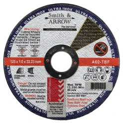 "5"" 125mm x 1mm Metal Cutting Discs Wheels for steel 