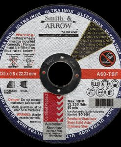 "5"" 125mm x 0.8mm Metal Cutting Discs Wheels for Steel 
