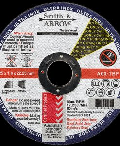 "5"" 125mm x 1.6mm Metal Cutting Discs Wheels for Steel 