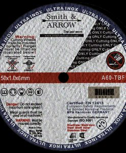 "2"" 50mm Metal Cutting Discs Wheels for all Steel 