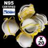 N95 P2 Masks