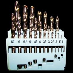 19 Piece Metric Drill Bit Set - M2 HSS (For Metal)