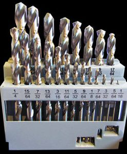 21 Piece Imperial Drill Bit Set - M2 HSS (For Metal)
