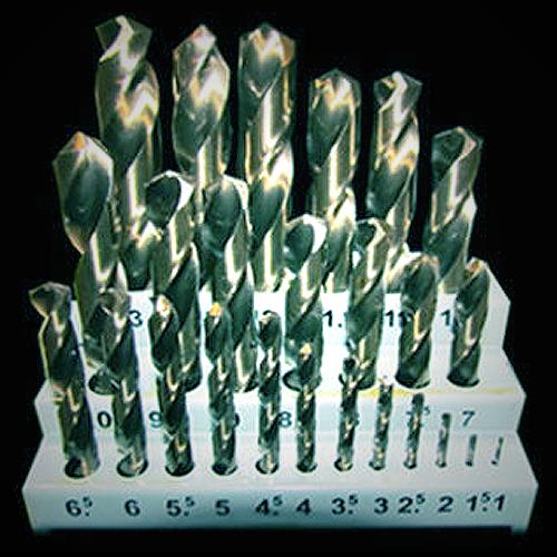 25 Piece Metric Drill Bit Set - M2 HSS (For Metal)
