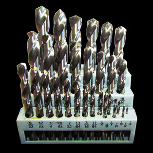 29 Piece Imperial Drill Bit Set - M2 HSS (For Metal)