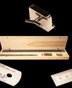 Stainless Steel Rulers & Slide Stop Tool