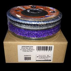 Mixed Box 125mm Cutting Flap Strip Discs