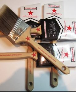 "2.5"" 65mm ANGLED HOUSE PAINTING BRUSHES 