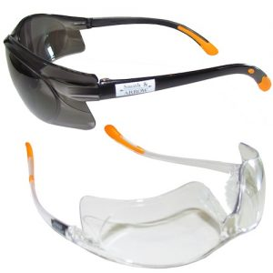Aust Certified Safety Glasses anti-fog, anti-scratch | Clear or Smoked