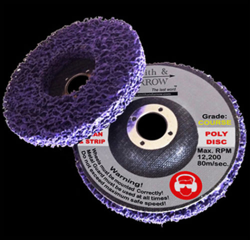 "Clean & Strip Discs - 4"", 100mm (Paint Removal using Angle Grinder)"