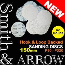 150mm No Holes Velcro Hook Loop Discs