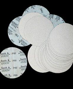 """Hook & Loop Velcro Sanding Discs - 3"""" 75mm No Hole (Orbital)"""