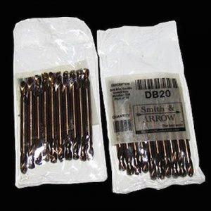 "#20 Rivet Double Ended Drill Bits, Cobalt M35 - 4mm, 5/32"""
