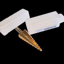 M2 Metal Step Drill Bit Set: 4mm-12mm, 8 Steps