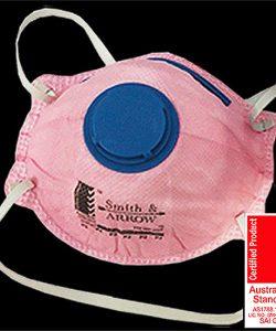 Pink P2 Safety Masks