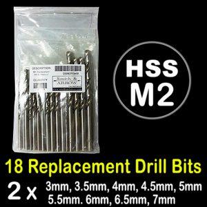 M2 Drill Bit Jobber Replacement Set