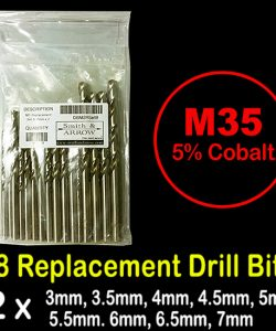 18 Piece M35 Drill Bit Replacement Set