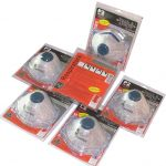 Disposable P2 Safety Masks - Cupped, Hang Packs, 3 Packs of Disposable P2 Masks - Cupped, Hang Packs, 6 Packs x 3