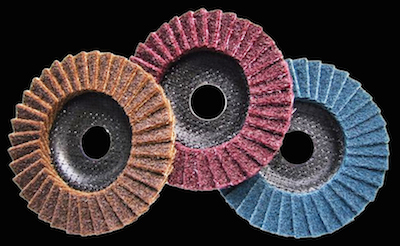 "5"" 125mm Scotch Brite Flap Discs - Fine, Coarse, Medium"