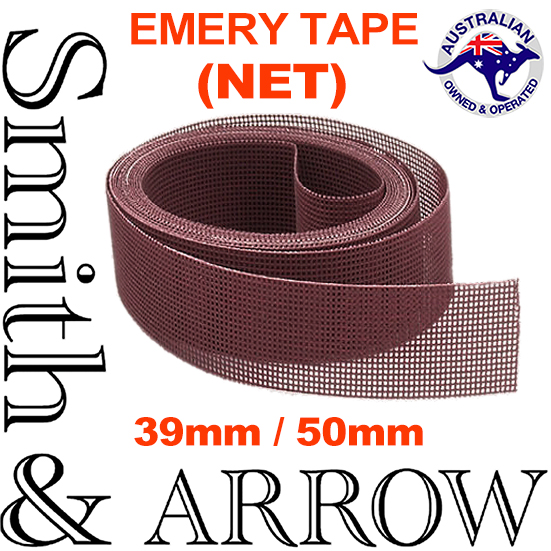 Emery Tape Ceramic Net 40mm, 50mm. Anti Clog, Dust Free