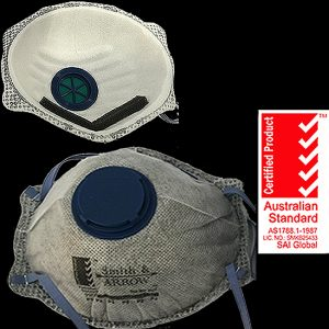Activated Carbon Cupped P2 Masks