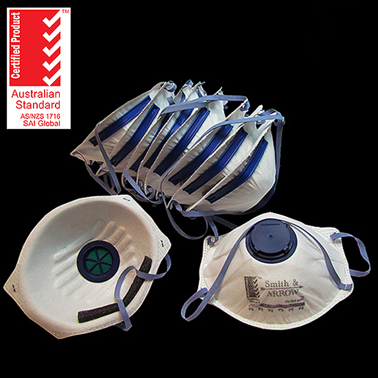 P2 Disposable Cupped Masks