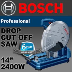 """BOSCH 355mm 14"""" 2400W DROP SAW GCO 14-24 J"""