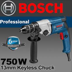 Bosch 750W Drill Keyless Chuck