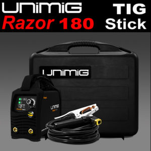 Unimig Welder Razor 180 TIG Stick