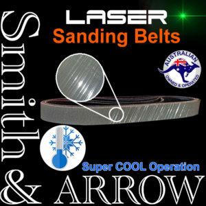 """12"""" x 1/2"""" Laser Trizact Linishing Belts"""
